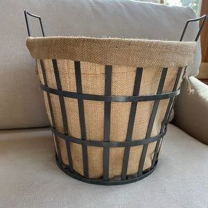 Pottery Barn Wire Bushel Basket